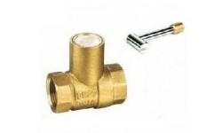 黄铜带锁球阀